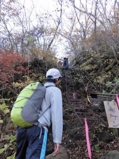 2014年10月現在、登山道に危険個所があります。