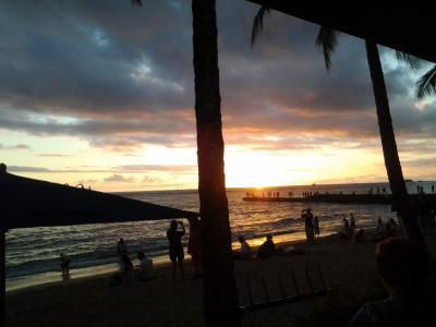 二回目のハワイinアウトリガー・リーフ・オン・ザ・ビーチ