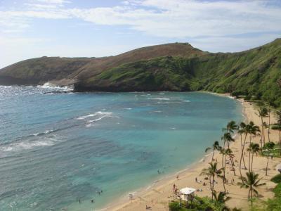 ハワイらしいビュースポット