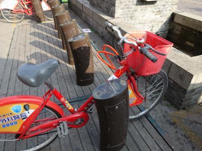 観光客も利用可能な公共自転車