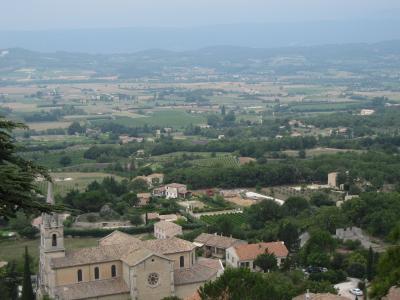 Luberonの小さな村はどこも素敵です