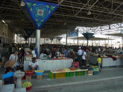 中央アジアの市場は楽しい!