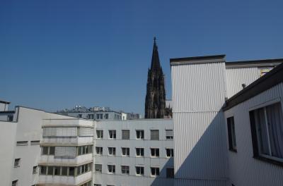 窓から大聖堂が見える部屋でした。