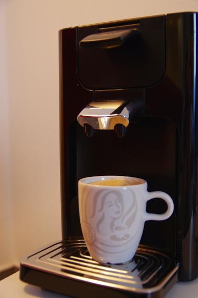 ドリップコーヒーが置いていあるのに感動してしまいました。