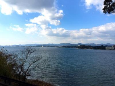 浜名湖が見えます