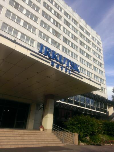 ソビエト時代からの大型ホテル
