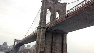 ブルックリンブリッジ!