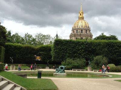 パリ観光の息抜きには最適です。
