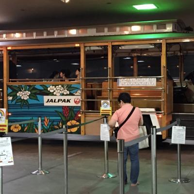 二階建バスも、