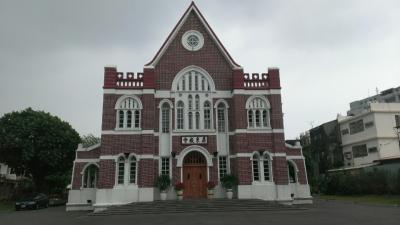 中山公園近くのきれいな教会