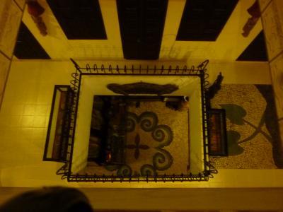 階段は吹き抜けになっています