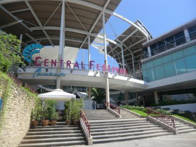 プーケット・タウンの大きなショッピング・センター