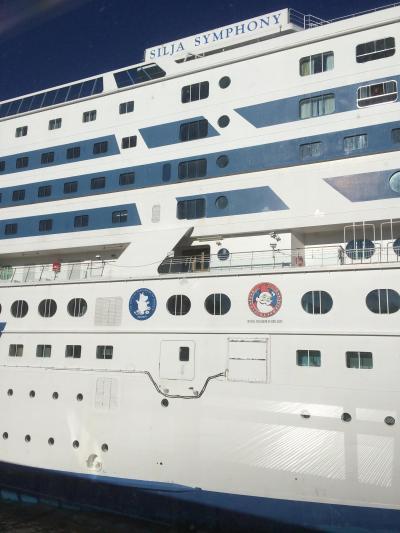 豪華な船旅