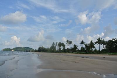 朝の散歩 on the beach