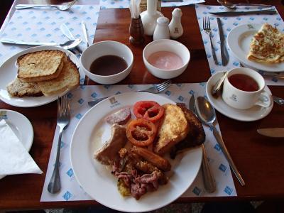 これ朝食です