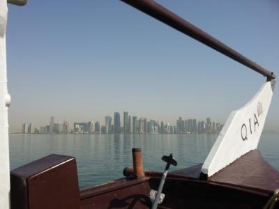 ダウ船でフィッシングツアー