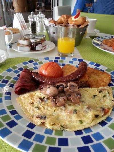 朝食がおすすめ