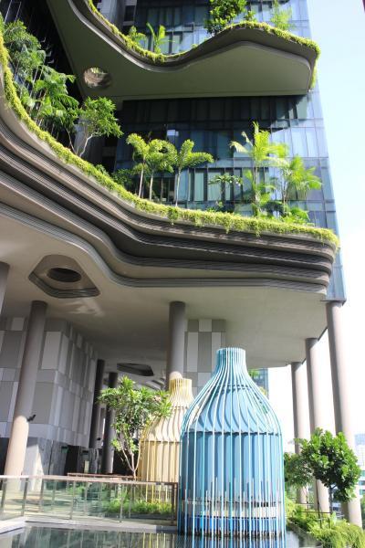 チャイナタウン付近にあるスタイリッシュなホテル