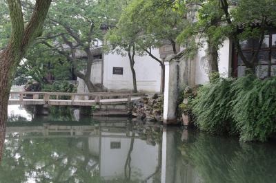 蘇州古典園林ではゆっくり過ごします