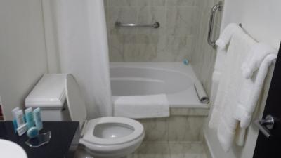 せっかくのホテルなのにがっかりなバスルーム。