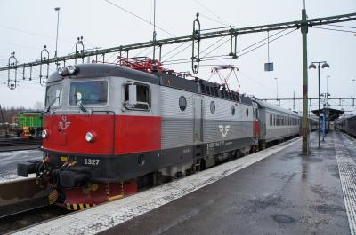 ノールランストーグ鉄道(ストックホルム~ナルヴィーク)
