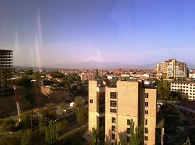 126号室から見えたアララト山