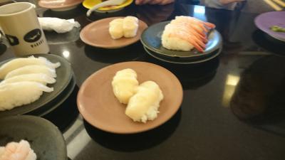 グルメ小樽の代表的な回転寿司ー食材が新鮮