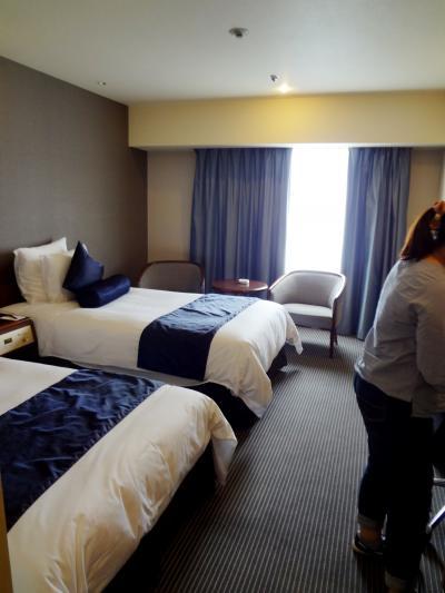 繁華街から少し離れているが、便利なホテル