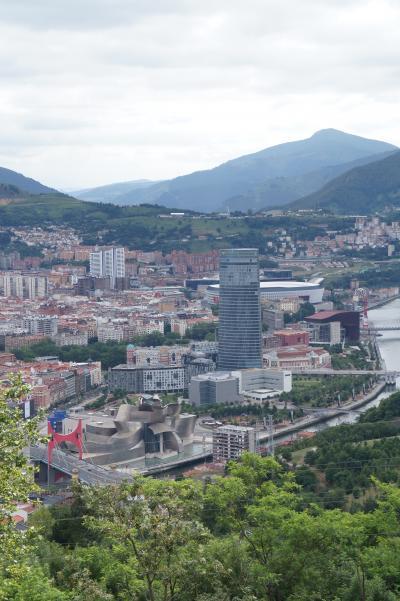 Bilbao市内を一望!