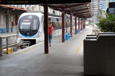 BilbaoのターミナルはAtxuri駅