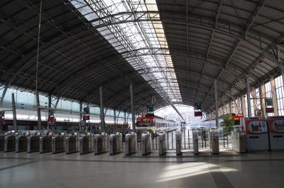 バスクでは珍しいヨーロッパらしい駅