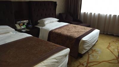 蘇州の新しい街にあるホテル