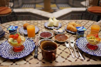 大満足な朝食