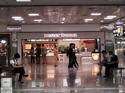 釜山駅に日本のミスドが登場。