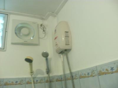 温水器は優れもの。