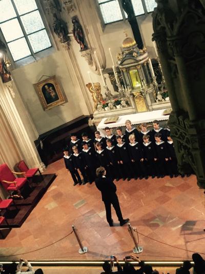 ウィーン少年合唱団とウィーン・フィルを一度に聴ける。