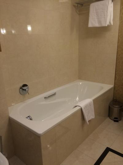 浴槽。シャワーブースは別。