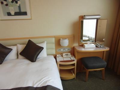 夜景はあまり楽しめなかった 札幌プリンスホテル