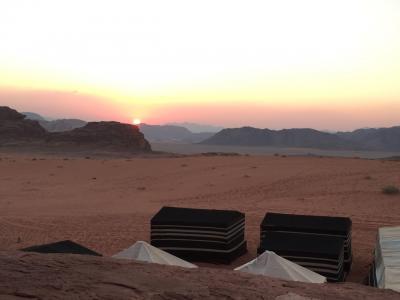 夕陽の絶景