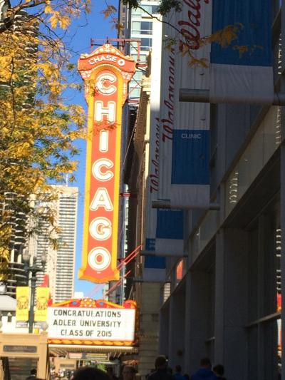 シカゴに来た感じがつよまります