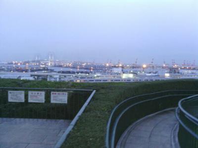 港の見える絶景ポイント。元町から近いです。