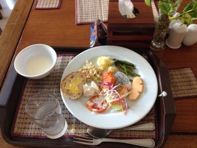 朝食は1階のレストランです。メニューは…