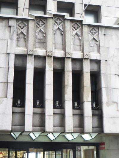 W.M.ヴォーリズの傑作大丸心斎橋店本館が近く封鎖されることになった。
