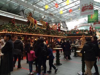 六本木ヒルズのクリスマスマーケットに行ってきました♪