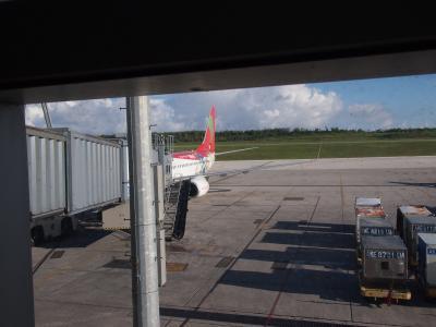 こじんまりとした小さな空港