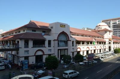 東南アジアによくあるマーケット