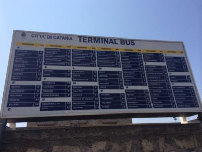 シチリア島内の移動は電車よりバスが便利