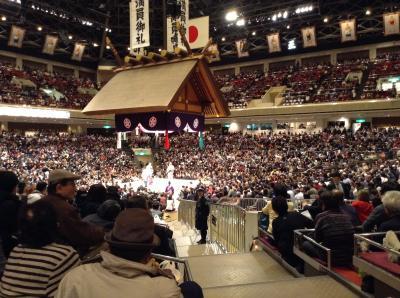 お相撲さんが間近で見れます!