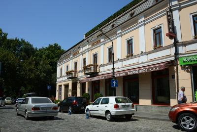 旧市街にあり、便利な場所。