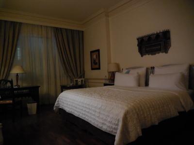 綺麗な客室 今回のツアーで一番都会的なホテルでした